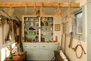 Kitchen in the Salt Box Museum
